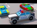 Мультик про Полицейскую Машину и Супер ГОНКИ Гоночных МАШИНОК! Видео для детей