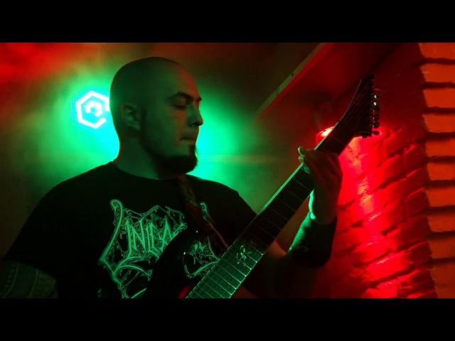 Encephalotomy I Cadavre Live at Barvy club Kiev 03 02 2018