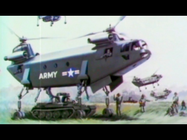 Tanks APCs in Vietnam: Seek and Strike 1969 US Army; The Big Picture TV-753