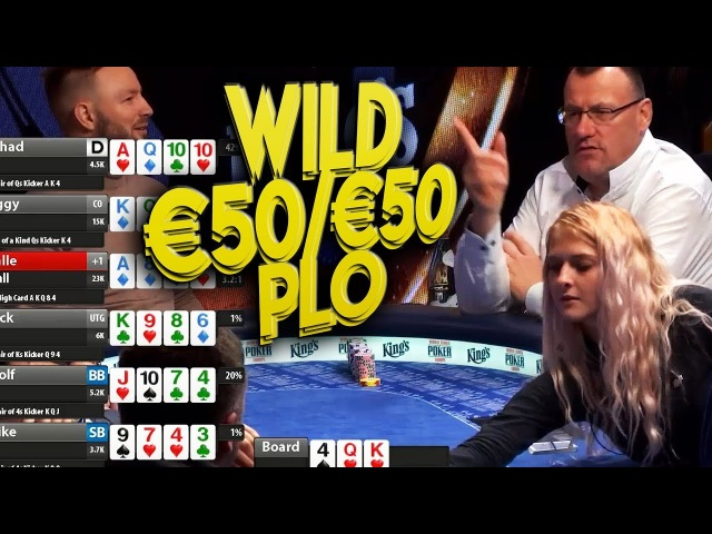 TOP Pots High Stakes PL Omaha €50/€50/€100 Cash Game