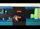 ハムマリオ005( HAMUMARIO)Hamster Super Mario Bros. WORLD1-2