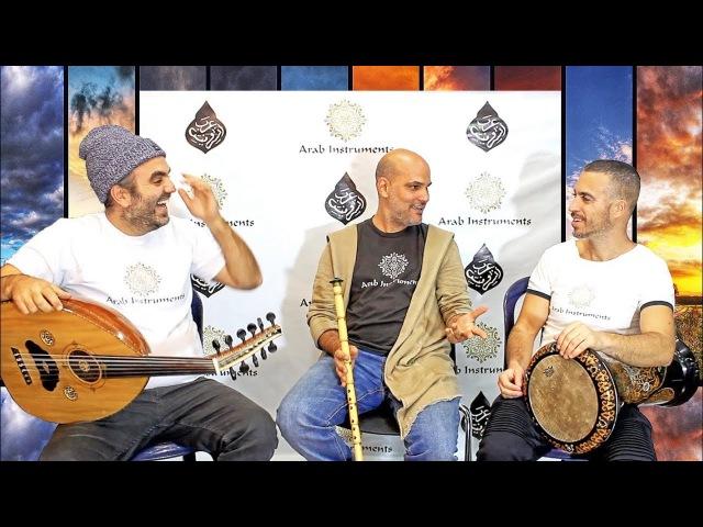 Sirto - Maqam Nikriz - Oud Ney Darbuka - Arab Instruments Trio
