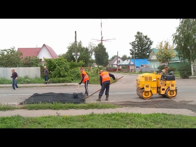 На ул.Каховской в Бийске сооружены лежачие полицейские (Будни, 14.07.17г., Бийское ...