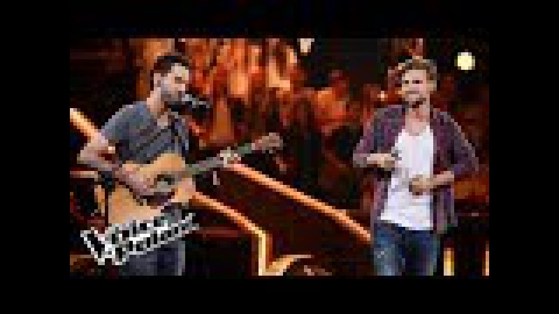 "Adam Milczarczyk vs Dave Adamshvili - ""I Won't Let You Go"" - Bitwy - The Voice of Poland 8"