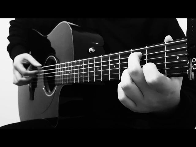 (BTS) RM V - 네시 (4 O'Clock) - Cover (Fingerstyle Guitar) [FREE TABS] » Freewka.com - Смотреть онлайн в хорощем качестве