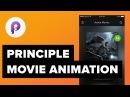 Movie App Design - UI/UX Animations Tutorial with Sketch Principle