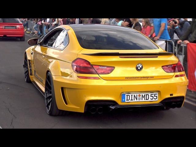 BMW 650i MD PD6XX Widebody! REVS DRAG RACE!