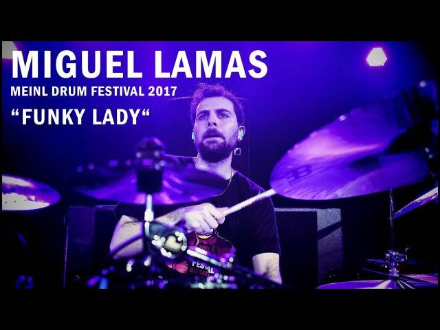 "Meinl Drum Festival - Miguel Lamas - ""Funky Lady"""