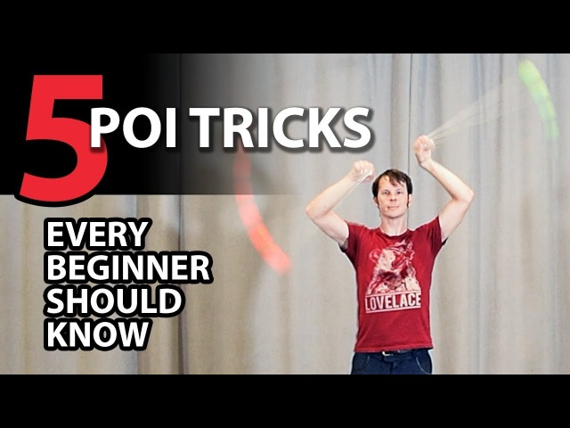 5 Tricks Every Beginner Poi Spinner Should Know