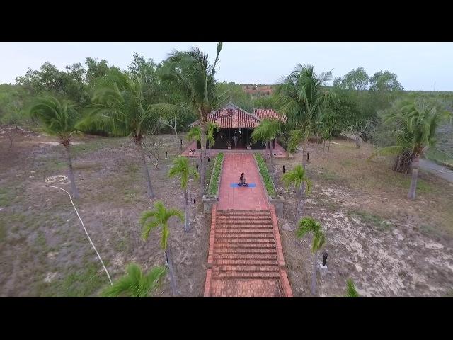 Vietnam. Muine. Yoga dom na gore 2018