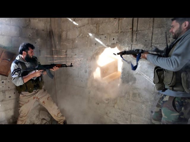 Heavy Clashes in Some Parts of Syria - Combat Footage | War in Syria 2017