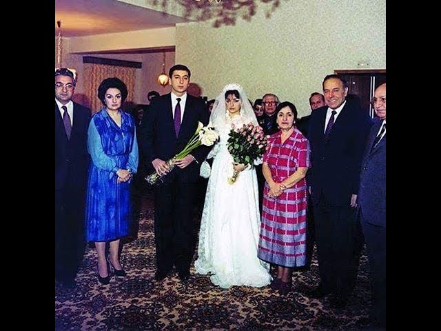 İlham Əliyev və Mehriban Əliyevanın cavanlıq şəkilləri