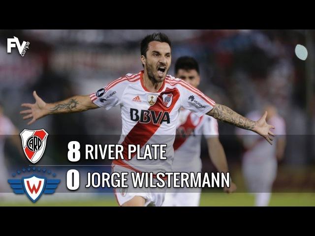 River Plate 8 x 0 Jorge Wilstermann MASSACRE HUMILHANTE Melhores Momentos Libertadores 2017