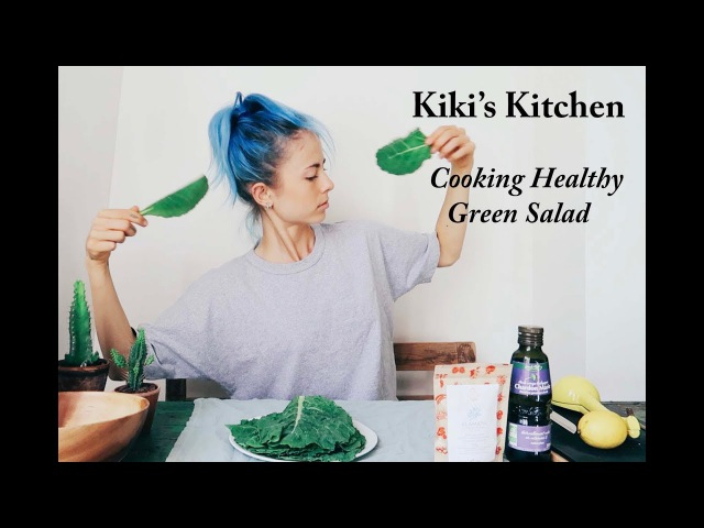 KIKI'S KITCHEN | Basic Kale Salad Recipe