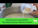 Как сделать закваску для сыра Производственная закваска Рецепт