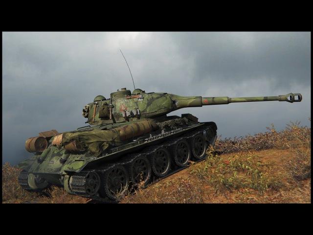 T-34-88M (skin) - 5.4K Damage - 10 Kills - World of Tanks: T-34-85M Gameplay
