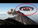 Обнародовано шокирующее видео! Приземление НЛО в кратер вулкана. Группа ученых онемела от увиденного