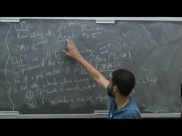 Advanced Algorithms (COMPSCI 224), Lecture 20