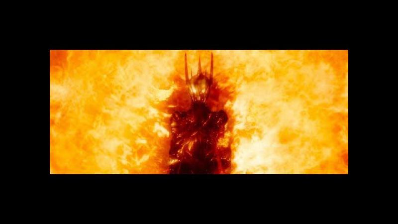 Галадриэль изгоняет Саурона. Гэндальф хочет предупредить Эребор. HD