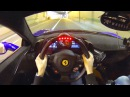 Insane POV: Ferrari 458 Speciale w/ Straight Pipes and R3 Wheels!