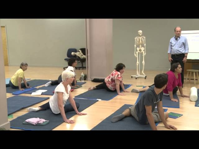 The Feldenkrais Method, Better Turning, Part Two of an Awareness Through Movement Lesson