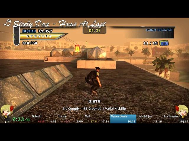 Tony Hawks Pro Skater HD 100 Speedrun (2355)