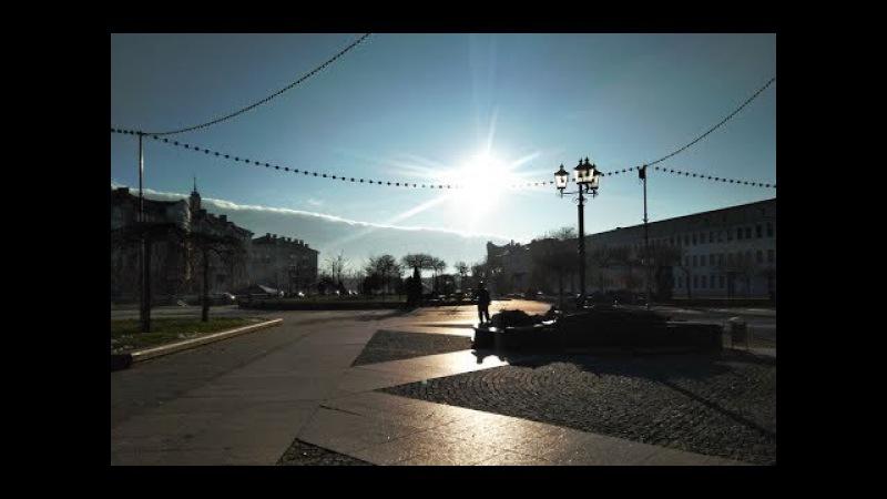 Дорога из Москвы в Белосток. Солнечный ГРОДНО. Православный храм и католический ...