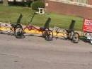 Trizard Delta Trike Train by Midwest Recumbents in Illinois.