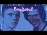 Just Like I'm Your Boyfriend Henry Bowers x Patrick Hockstetter edit (This is my OTP yo)