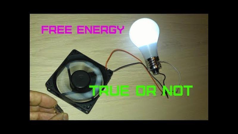 Free Energy Magnet Motor fan TRUE OR NOTDestroying Myths