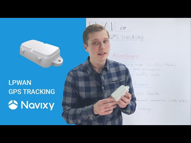 LPWAN in GPS tracking Oyster Sigfox GPS tracker as an example