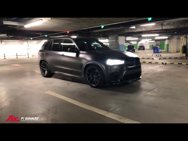 BMW F85 X5M x Zperformance x Fi Exhaust