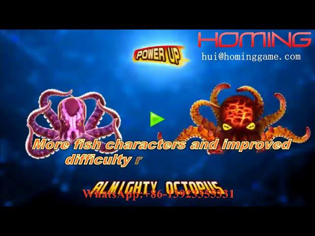 Ocean King 3 Monster English version Awaken IGS original high profit fishing game machine (海洋王3捕鱼机)