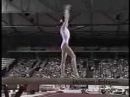 Natalia Ziganshina - 2001 Worlds Team Finals - Balance Beam
