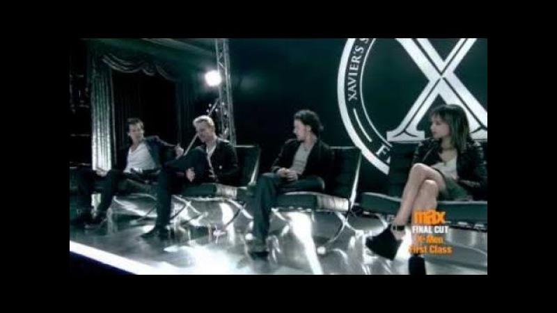 X-Men First Class: Cast Uncensored - Part 2 (Cinemax)