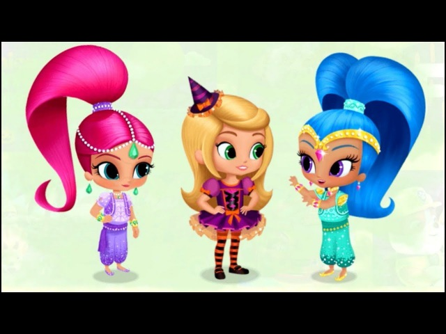ABCDEFG Bubble Guppies, Shimmer and Shine, Paw Patrol teach letters Learning video