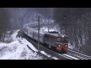 ТЭП60 0780 с пассажирским поездом TEP60 0780 with a passenger train 16 вагонов
