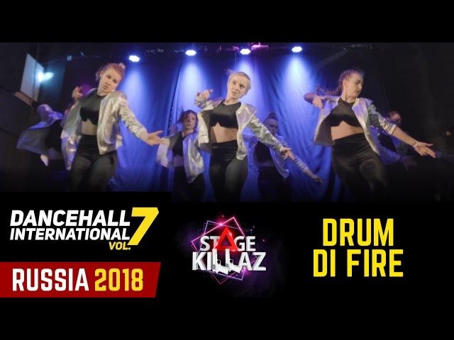 DHI RUSSIA 2018 - STAGE KILLAZ WINNERS SHOW - DRUM DI FIRE