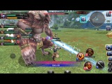 Final Fantasy Explorers-Force [Dragon Knight] CBT Gameplay