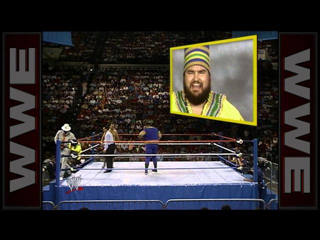 Akeem makes his WWE in ring debut Superstars Oct 1 1988