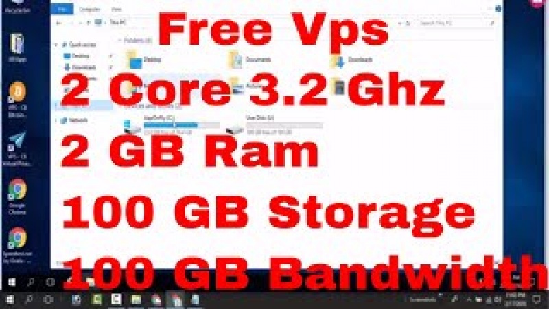 Get Free Vps|| 2 Core 3Ghz ||2GB Ram || 100 GB Bandwidth Storage| Totally Free