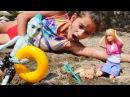 Plaj oyunları. MonsterHigh kurtarma ekibi kreşteki çocukları kurtarıyorlar. kızoyuncakları