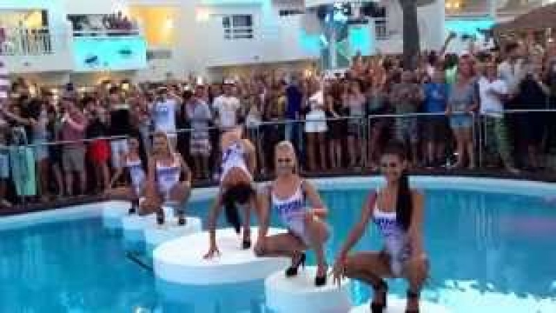 Armin van Buuren opening party entrance, Ushuaia Ibiza 25/6-2015