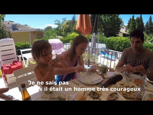 LES RUSSES GOÛTENT LA CUISINE FRANCAISE 🍷 - escargots,les huitres etc LaRusseDePACA