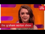 Maisie Williams 'Kill List' - The Graham Norton Show - BBC One