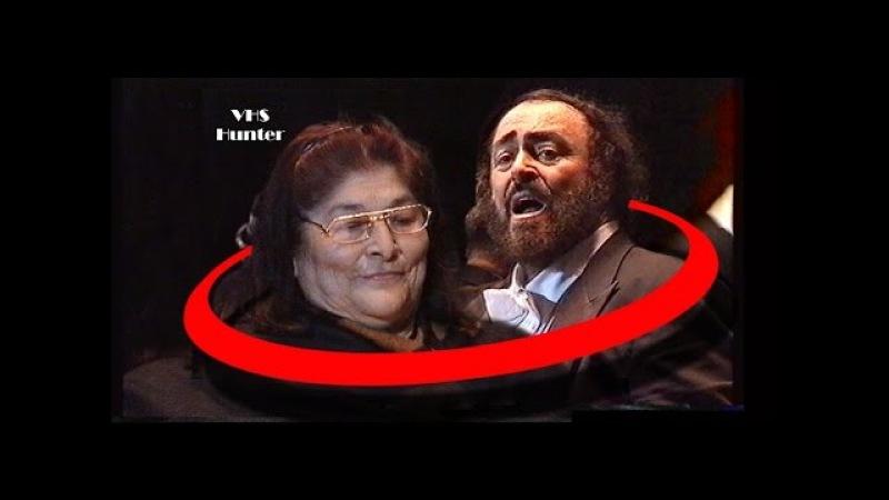 Cuore Ingrato Mercedes Sosa y Luciano Pavarotti Año 1999