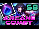 AHRI: ARCANE COMET | Season 8 RUNES GUIDE | In-Game Gameplay! | Zoose