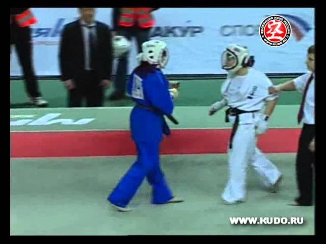 EC KUDO 2008 Bykova VS Ivanova
