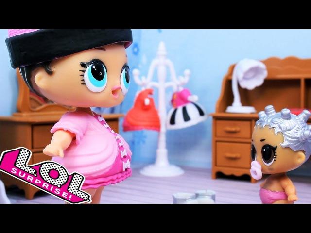 LOL Surprise Куклы ЛОЛ НЯНЬКА Пупсики Baby Doll Вредные детки Игрушки Сюрпризы Лалалупс ...