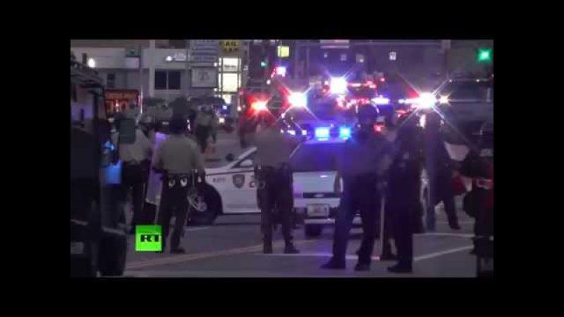 Жители американского штата Миссури протестуют против полицейского насилия
